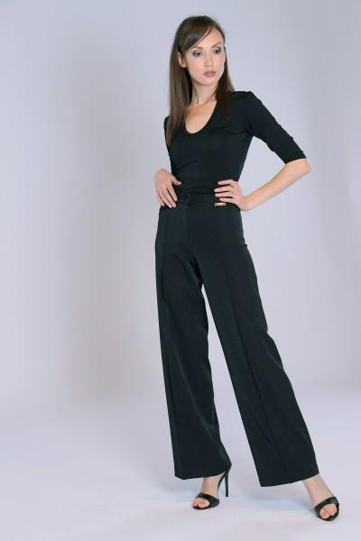 Basic Damenshirt schwarz