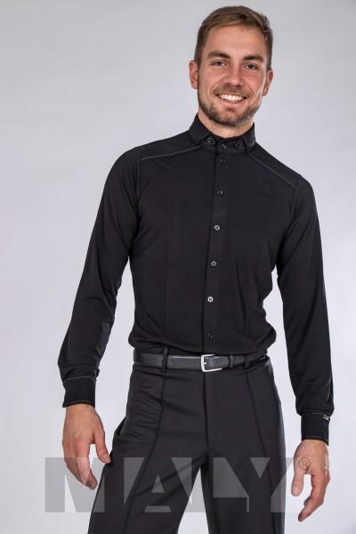 MF182201 - Herrenhemd mit Kontraststoff