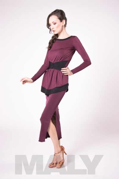 MF181101 - Damen Shirt mit Gürtel