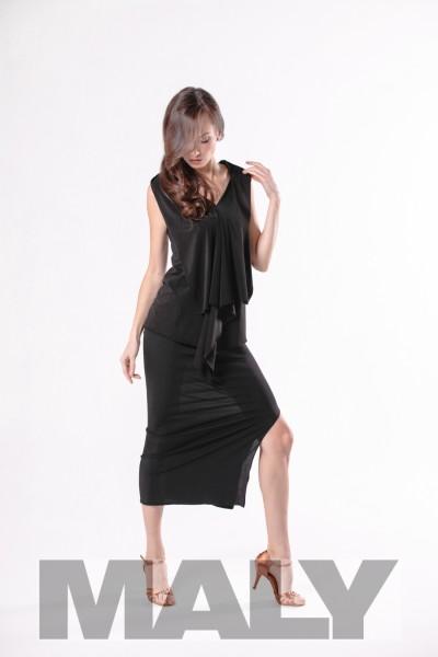 MF161105 - Damenshirt mit Rückenschal